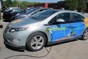 ReVision Energy's electric car charging