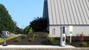 vehicle charging station in South Portland