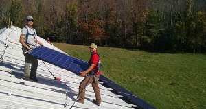 Maine Community Solar Farm Install Paris, ME