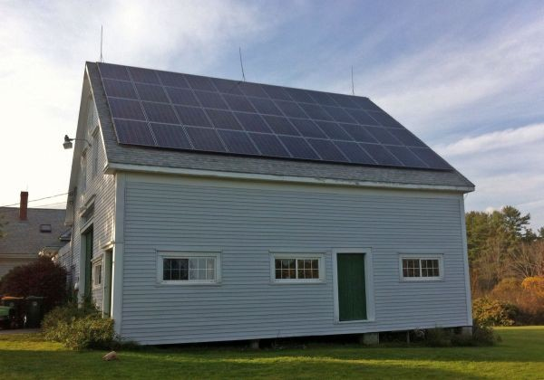 Caterina Solar PV Array - Scarborough ME