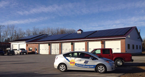 City of Belfast ME Fire Station - Solar