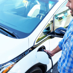 plugging in the chevy bolt