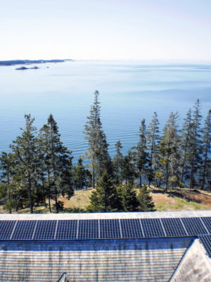 solar over coastal water