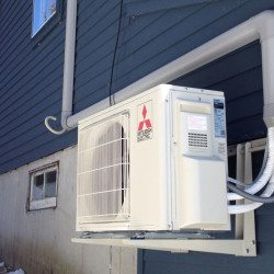 Mitsubishi Mini Split Heat Pump for Home