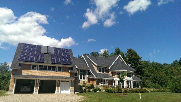 Solar Geothermal System - Kennebunkport Maine
