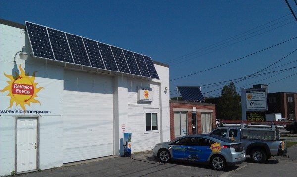 level2 EV solar charger portland maine