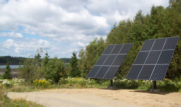 Lubec, Maine - Pole Mounted Solar Electricity