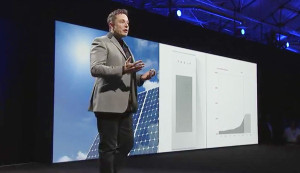 Elon Musk announcing the PowerWall making solar + batteries much more economically feasible.