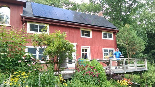 Arrowsic Maine Solar PV Installation