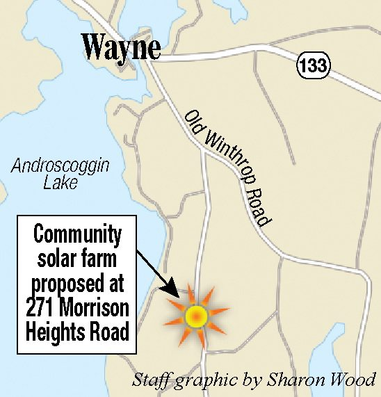 Planned Solar Farm In Wayne Could Be Maines Third ReVision Energy - Solar location map