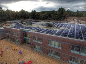 east rochester school solar - nh