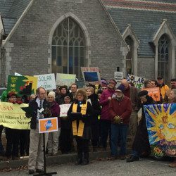 Solar Rally at Maine PUC December 2015