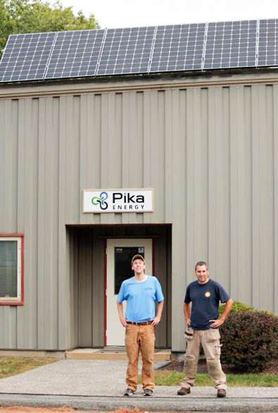 Pika Energy Westbrook Maine Solar Projects Revision