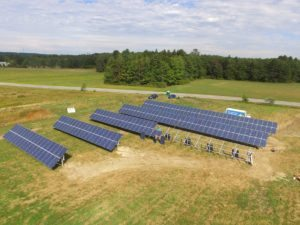 crystal spring solar farm in progress
