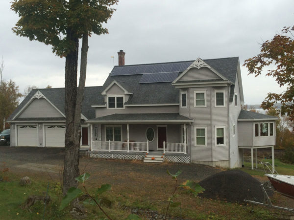 Lakeview Plantation, Maine - Solar Panel Project