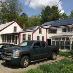 Solar PV for home in Norridgewock, Maine