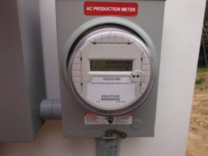 Solar AC Production Meter