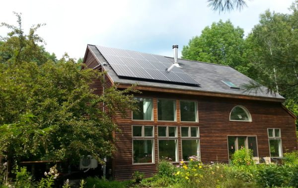 Solar PV and heat pump - Camden, Maine