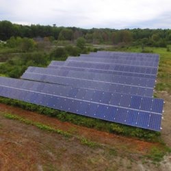 community solar farm in maine