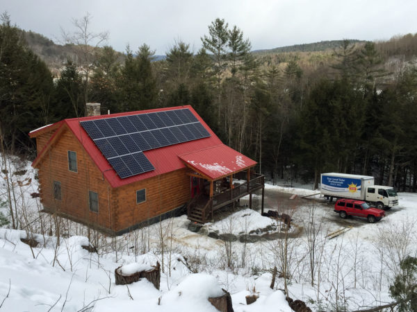 landaff, new hampshire - solar electricity panel project