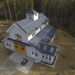 Why go solar? There are many different options that allow people to use solar energy. This home in Seal Cove, ME has solar panels attached to it's roof.