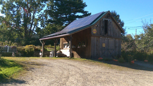Solar at Little Ridge Farm in Lisbon, Maine