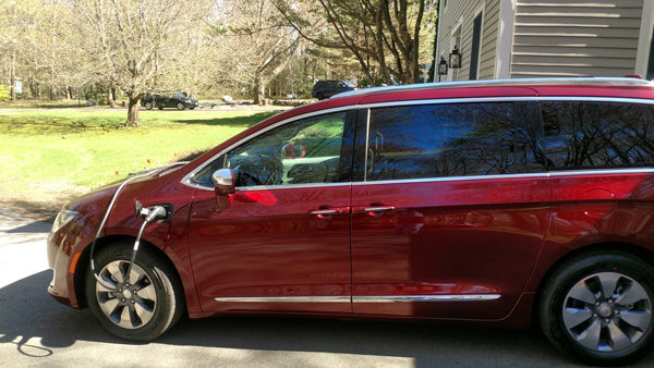 The New Chrysler Pacifica Plug In Hybrid Mini Van Has An All Electric
