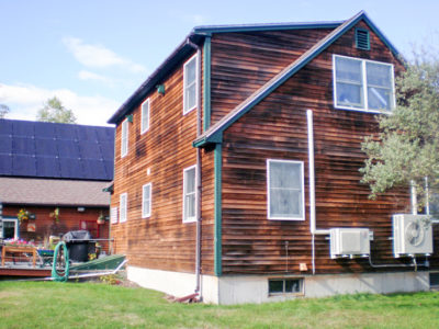solar pv with air source heat pumps in maine