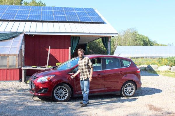 solar powered car in maine