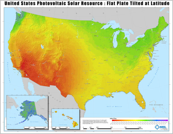us-solar-insolation-map