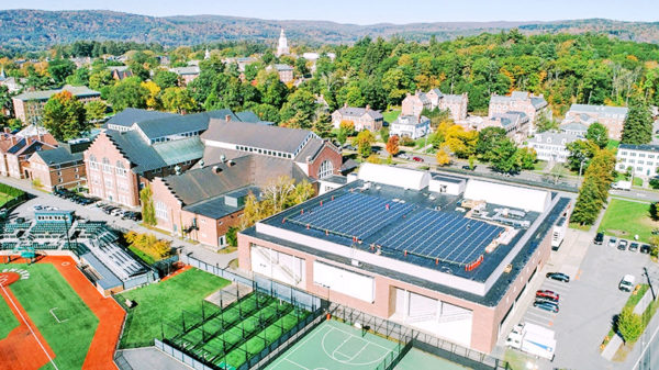 dartmouth college solar