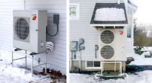 heat pumps in winter