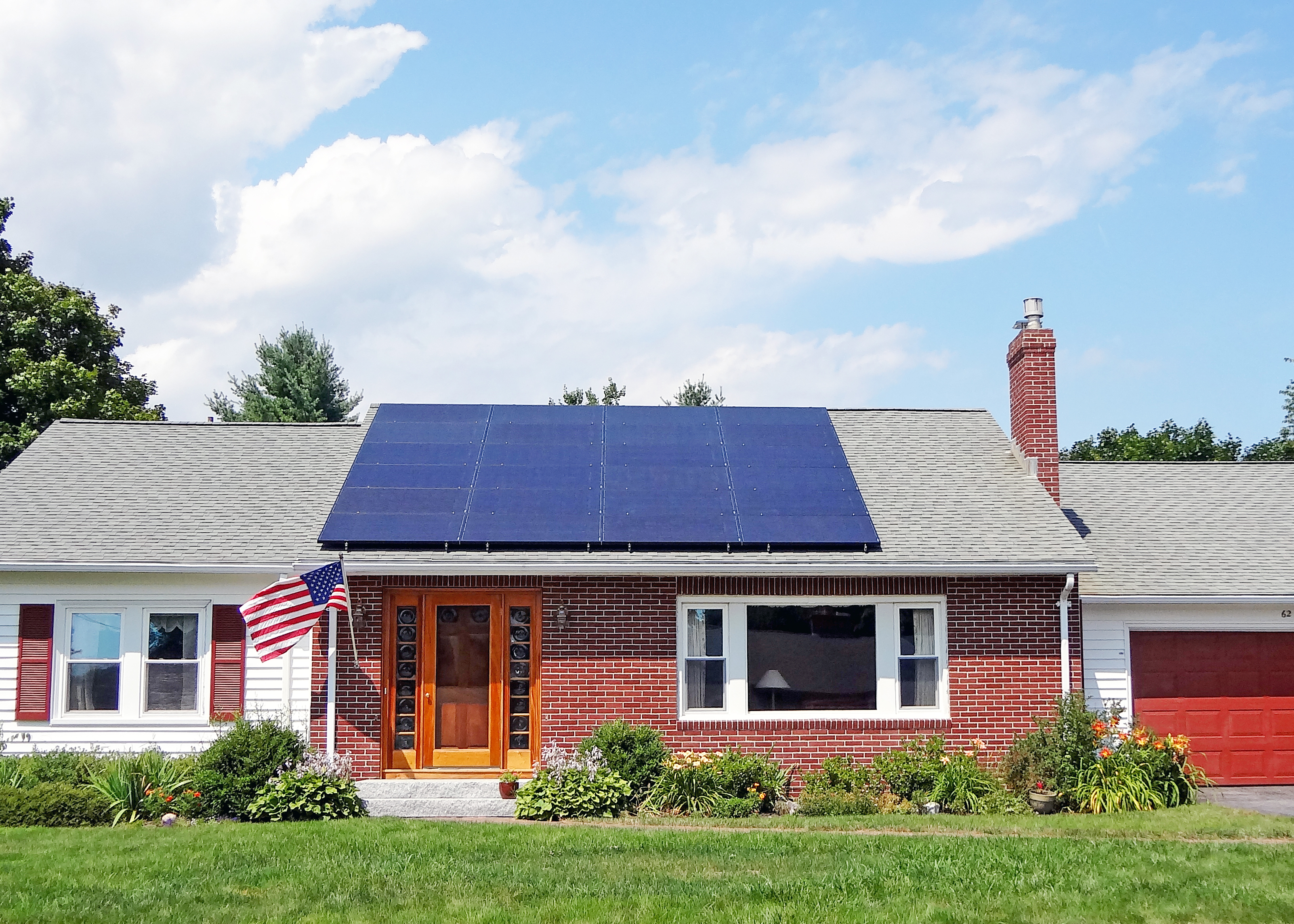 Solar Electric Panels For Homes In Me Nh Ma Revision Energy Cells Produce Dc Electricity From Light Sunlight Contains Two Boys Play Outside Enjoying The Sun As Their House Produces With Installed By