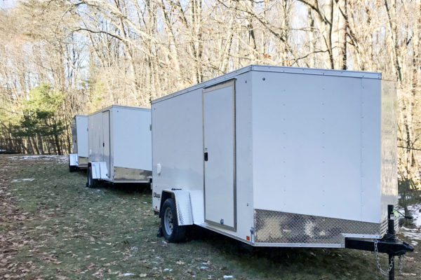 trailers at the ready in Massachusets
