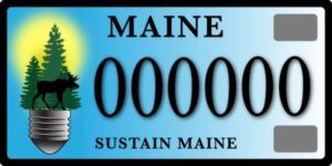Sustain-maine-community-energy-initiatives-license-plates