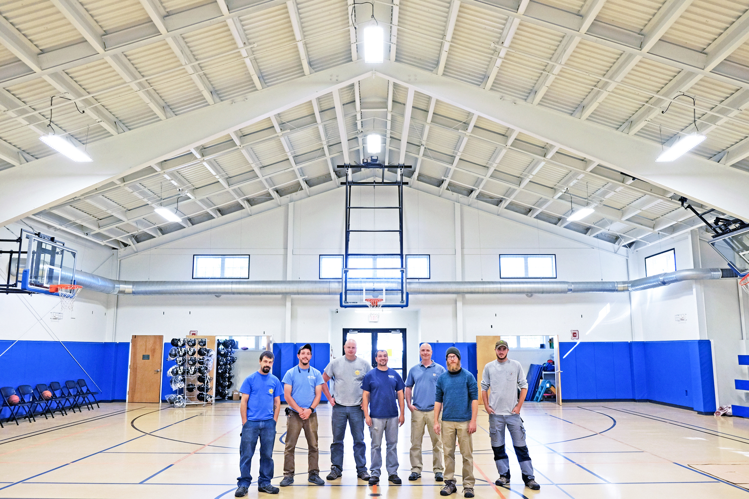 Commercial Led Lighting Facility Retrofits To Save Energy Wiring Navigation Lights Installing Equipment