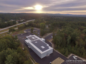 Contemporary Automotive Solar Project - Exeter, NH