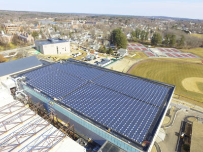 Phillips Exeter Academy Fieldhouse solar - Exeter, NH