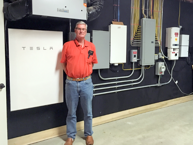 Solar Battery Backup Power for Homes in ME, NH, MA