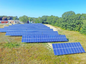 solar on commercial business in Maine