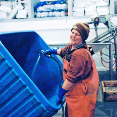 Tough, insulated containers are ubiquitous in the world of aquaculture - they keep valuable harvests fresh, and are easy to clean.