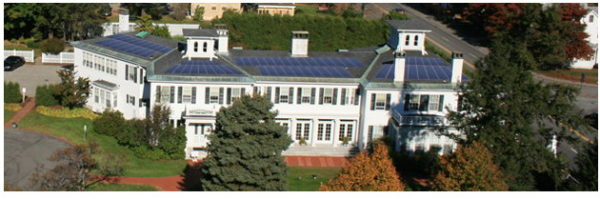 solar panels on blaine house