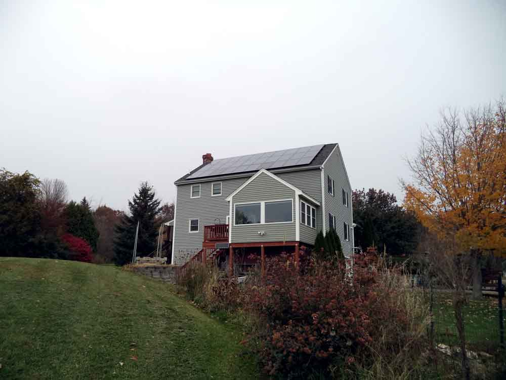 Stratham New Hampshire Solar Hot Water