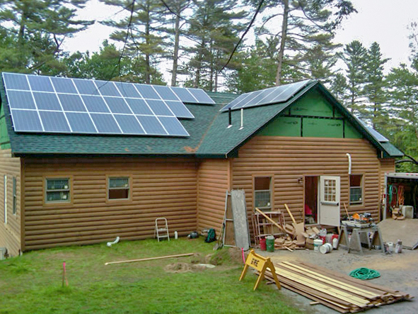 Umaine 4 H Camp And Learning Center Solar Bryant Pond Maine Solar