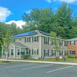 Rooftop solar array for Keene Housing Harper Acres in Keene, NH