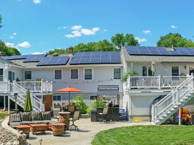 Methuen, MA home with solar array installed by ReVision Energy