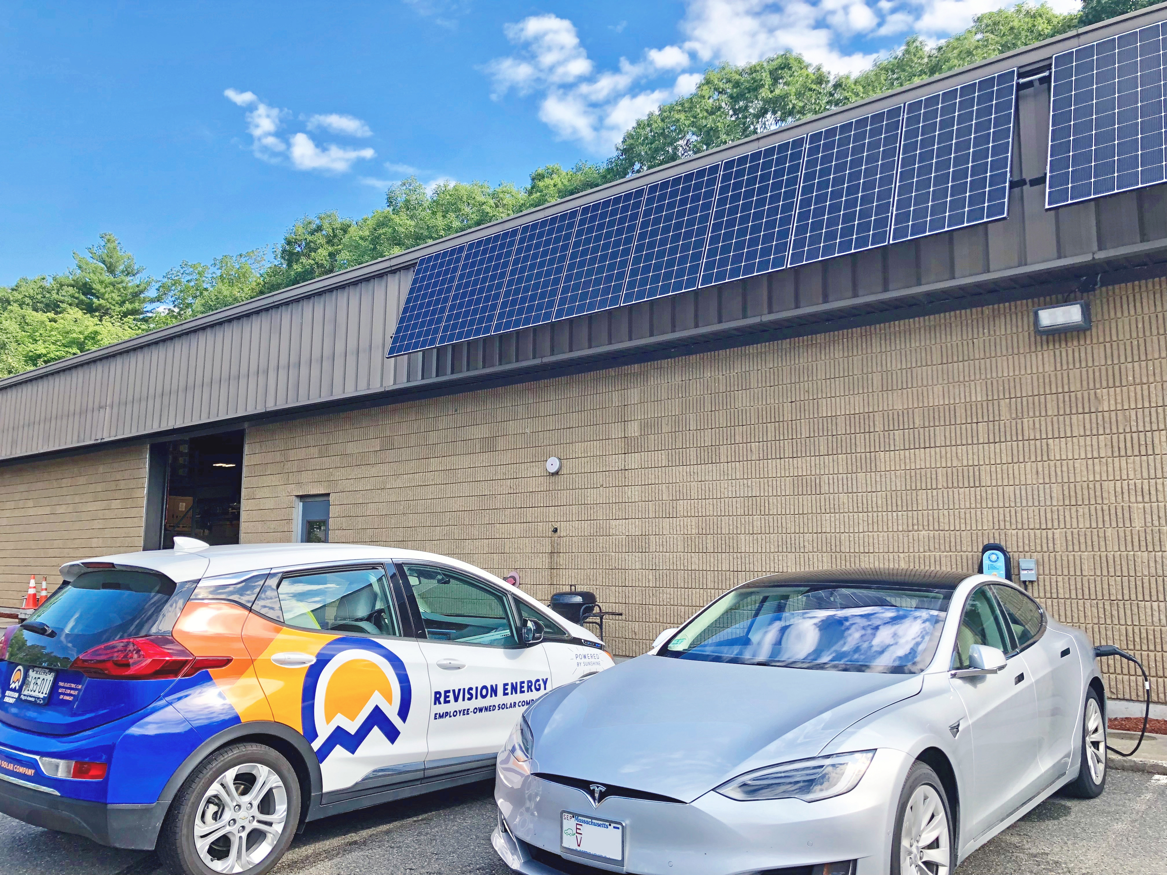 Electric Vehicle Charging for Homes in ME, NH, MA | ReVision
