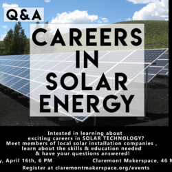 Careers in Solar CMS