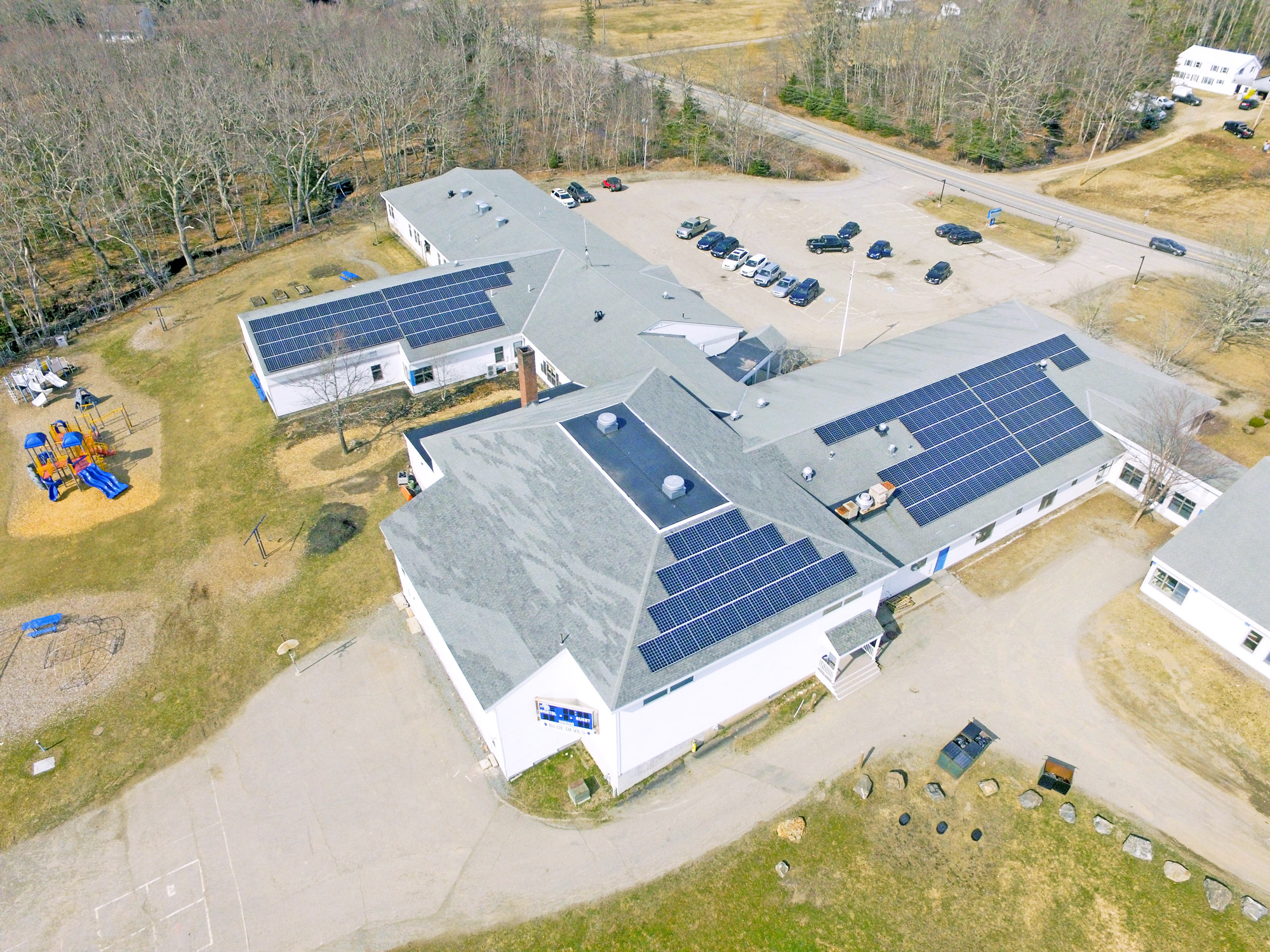 Bristol Consolidated School Pemaquid Me Solar Projects