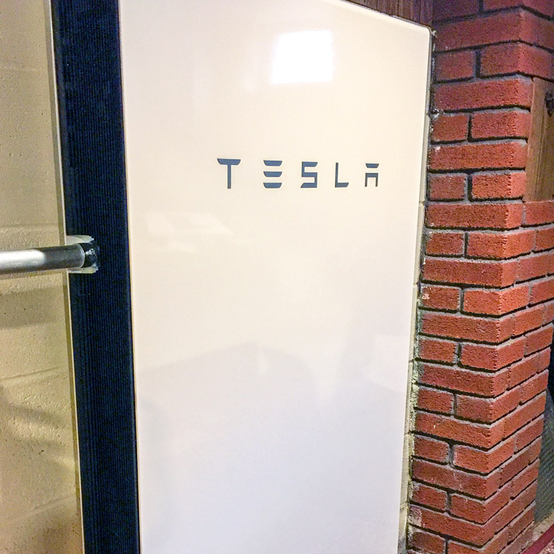 Tesla Powerwall battery back-up in Medford, MA